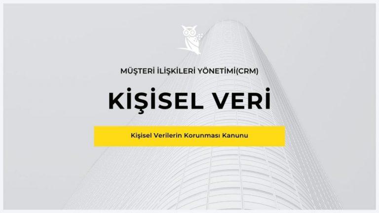 Kişisel Veri ve Müşteri İlişkileri Yönetimi(CRM)-Lundo Data-KVKK